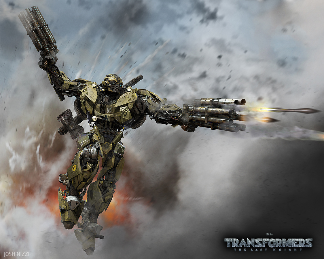 World War 2 Bumblebee Concept for Transformers: The Last